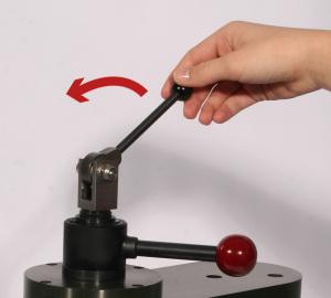 Klemmhebel zur Magnetbefestigung