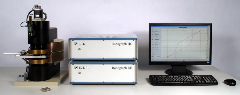 Robograph RE für Stoff- und Flussmessung von flachen Selten Erden und Ferriten